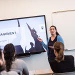 Photo of a workshop facilitator